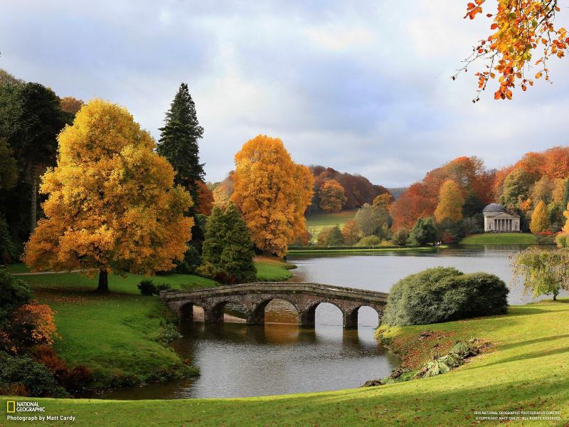 Wallpapers Cars Disney Hd Hd Nature Autumn England Bridges National Geographic 1080p