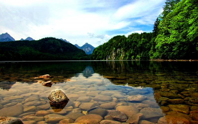 Wallpapers Hd Animated 3d Moving Hd Clear Water Lake Wallpaper Download Free 49894