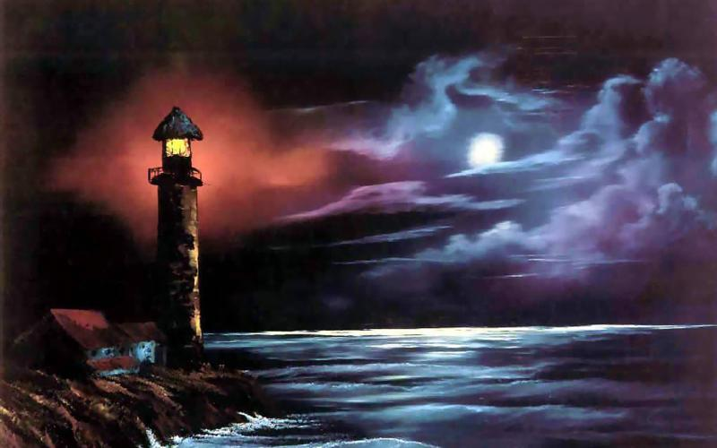 3d Bollywood Wallpaper Free Download Hd Lighthouse Stormy Night Wallpaper Download Free 66466