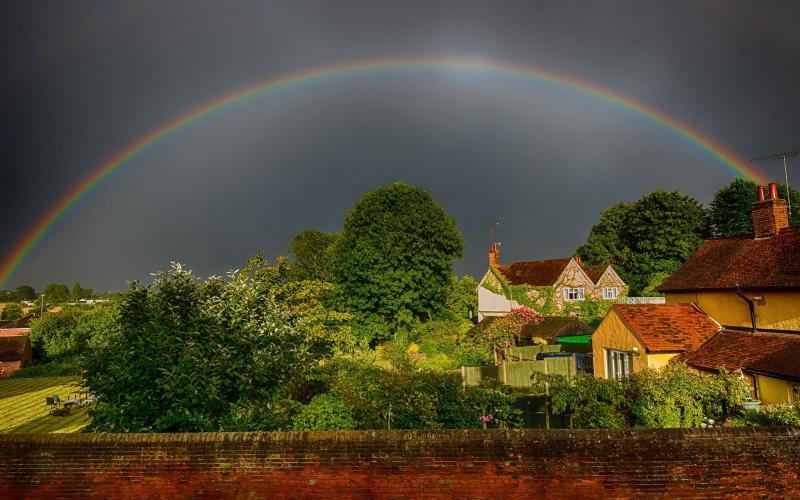 New Year 2014 Hd Wallpapers Hd Incredibly Beautiful Rainbow Wallpaper