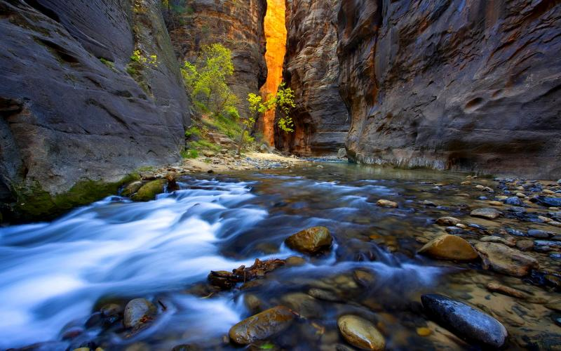 Free Animated Fall Desktop Wallpaper Hd Mountain Stream Wallpaper Download Free 60799