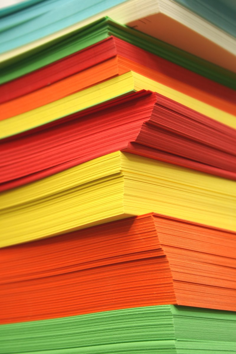 Farbiges Papier Free Farbiges Papier Stock Photo Freeimages