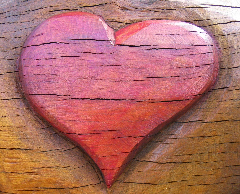 Free Wooden Heart Stock Photo Freeimagescom