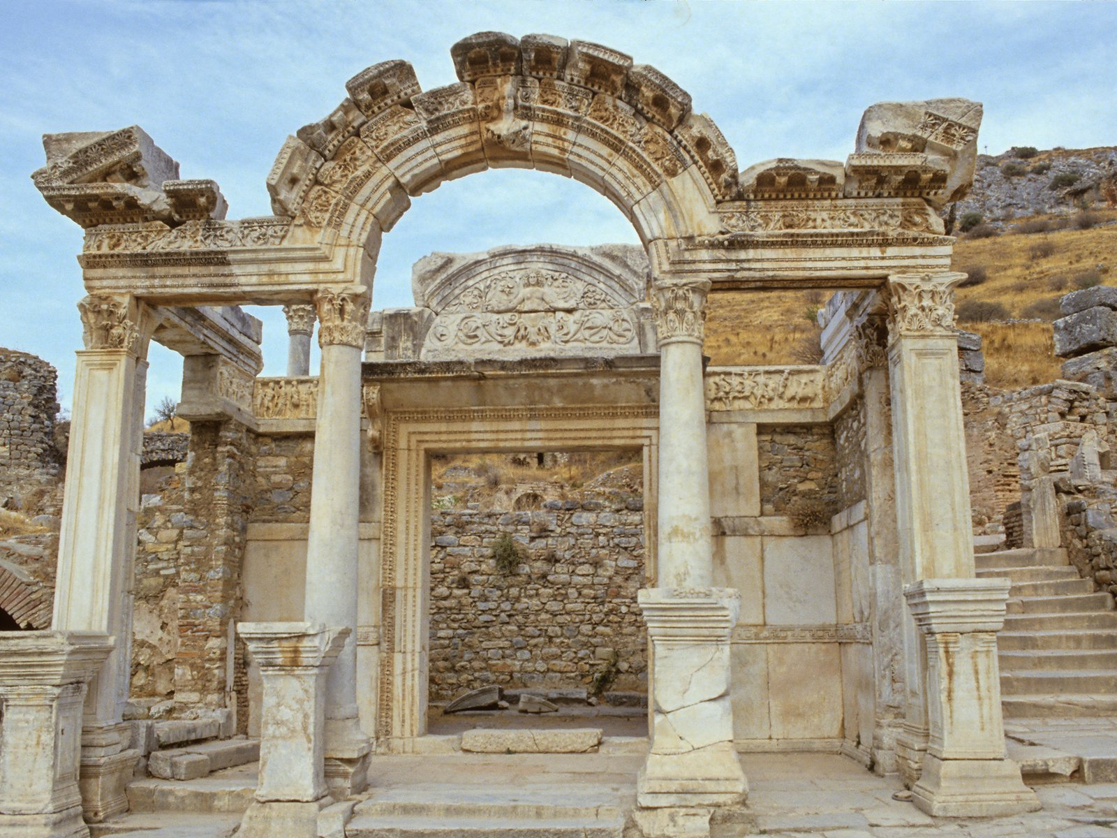 Fall Coffee Wallpaper Samsung 4 Free Greek Roman Ruins Stock Photo Freeimages Com
