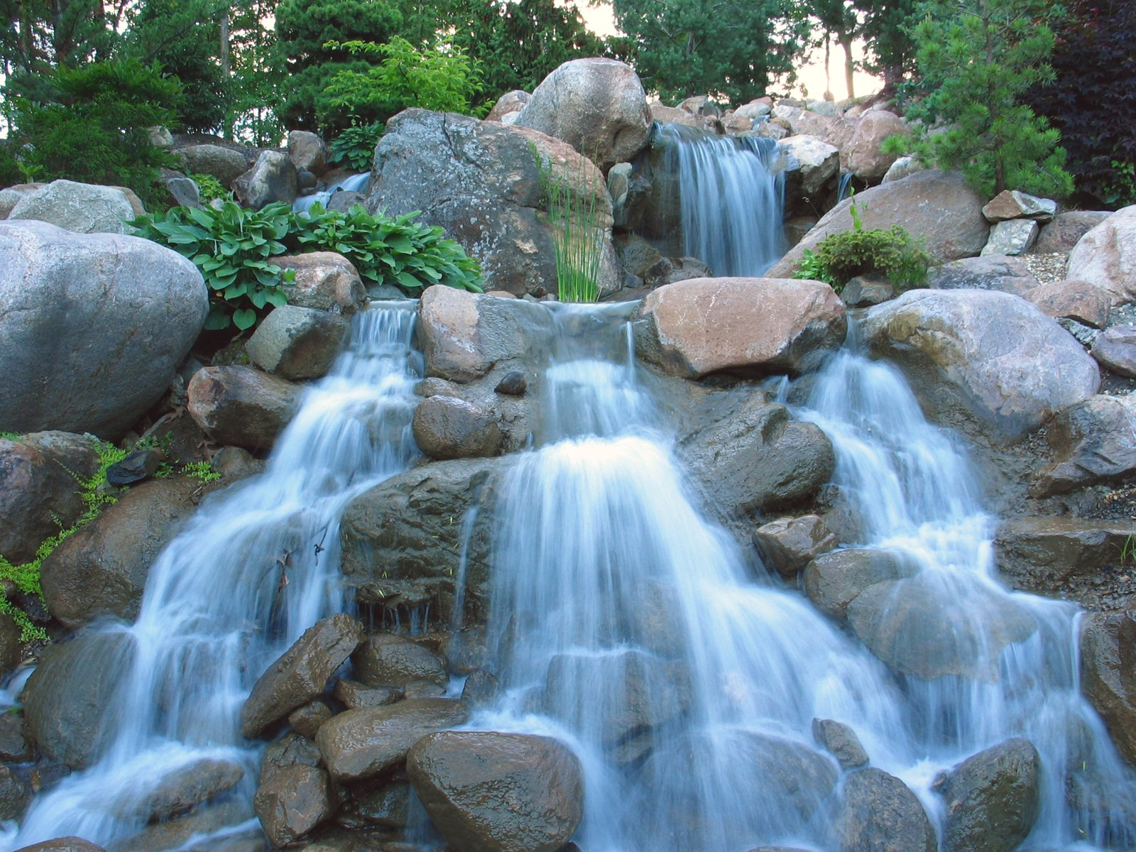 Fall Cell Phone Wallpapers Free Peaceful Waterfall Stock Photo Freeimages Com