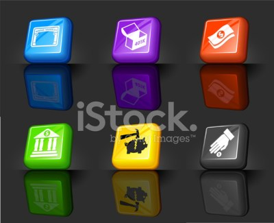 Financial Options Internet Royalty Free Vector Icon Set Stock Vector - FreeImages.com