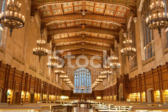 Law School Library, University of Michigan, Ann Arbor, MI Stock