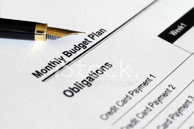 Plan DE Presupuesto Mensual Fotografías de stock - FreeImages - presupuesto mensual