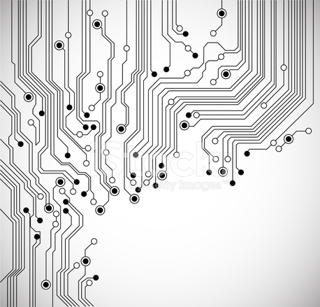 Circuit Board Abstract Background Stock Vector - FreeImages - circuit design background