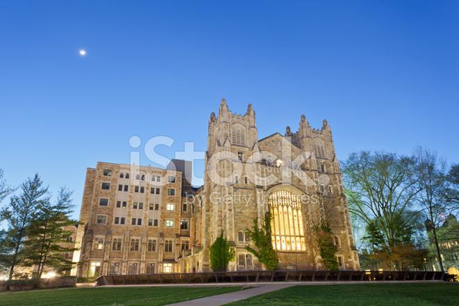 University of Michigan Law School Library, Ann Arbor, MI Stock