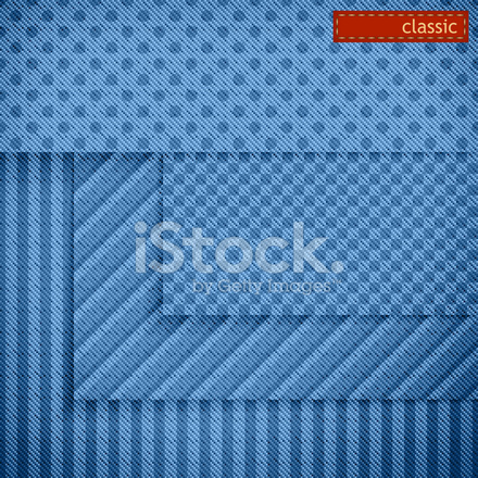 Fabric Patterns for Website Background Set Stock Vector - FreeImages
