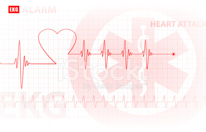Pink Heart Wallpaper Hd Ecg Monitoring Of The Heart Medical Background Vector