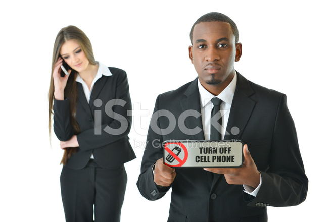 Turn Off Cell Phone (serious) Stock Photos - FreeImages - Turn Off Cell Phone Sign
