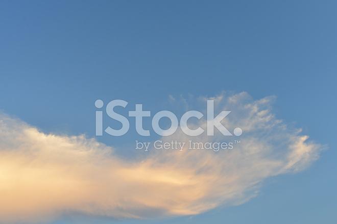 Nubes Rosadas En Fondo DE Cielo Fotografías de stock - FreeImages - fondo nubes
