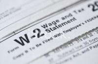 W2 Income Tax Form Stock Photos - FreeImages.com