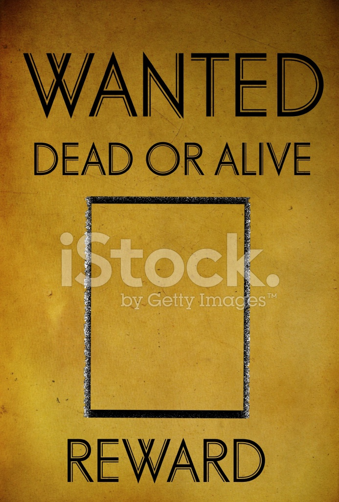 Vintage Wanted Poster Template Stock Photos - FreeImages