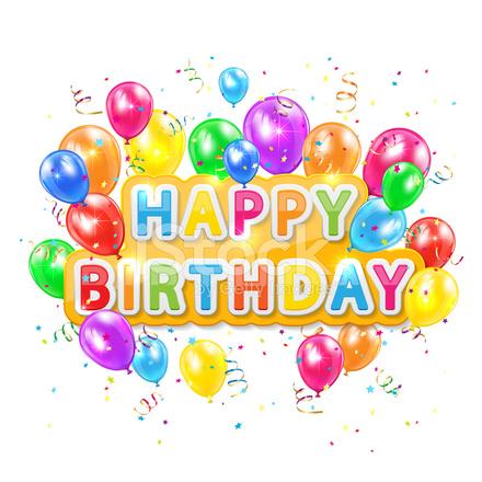 Happy Birthday Background Stock Vector - FreeImages - birthday backround