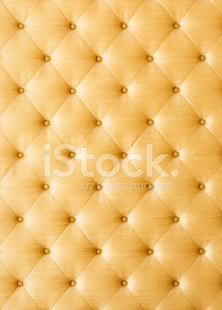 Vintage Car Design Wallpaper Golden Color Sofa Cloth Texture Stock Photos Freeimages Com
