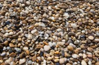 Brown Pebble Stone Floor Background Seamless and Texture ...