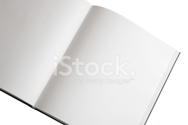Blank Pages IN Open Book Stock Photos - FreeImages