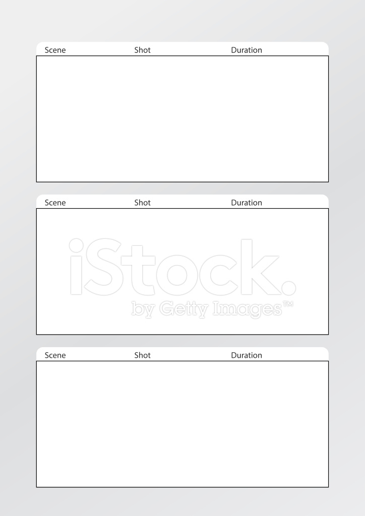 Film Storyboard Template Vertical X3 stock photos - FreeImages - vertical storyboard