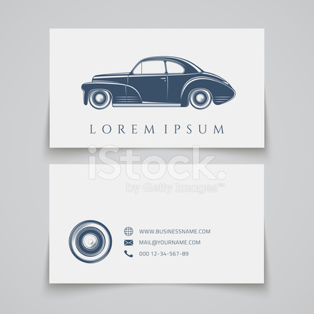 Business Card Classic Car Logo Stock Vector - FreeImages