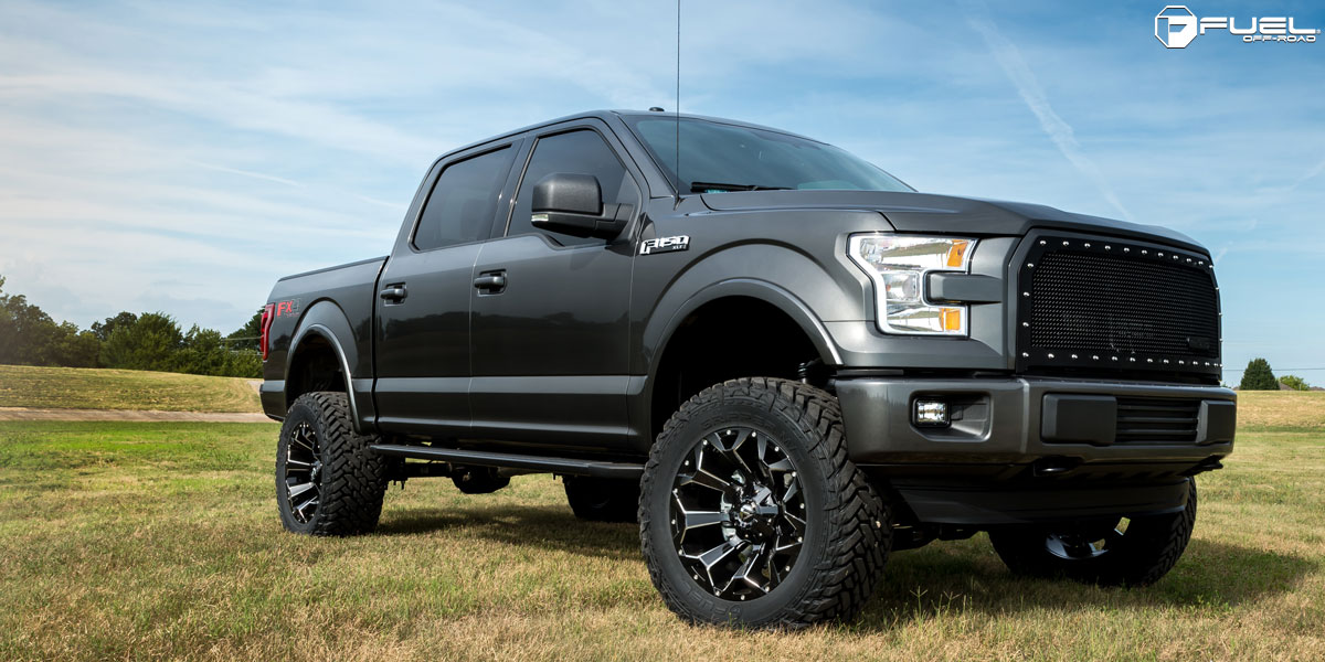 Ford F-150 Assault - D576 Gallery - Fuel Off-Road Wheels