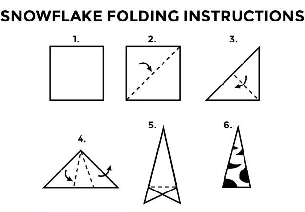 10 Pop Culture Snowflakes Printables - Fun Blog - snowflake template