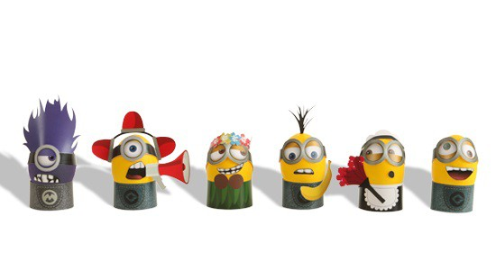 DespEGGable Me DIY Minion Costumes for Easter Eggs Printables