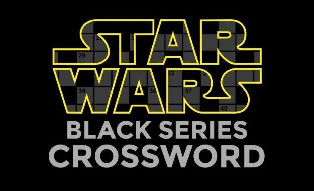 Star Wars Black Series Crossword Printable Puzzle - Fun Blog