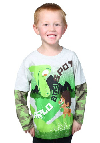 Good Dinosaur Arlo and Spot Boys Knit Pullover