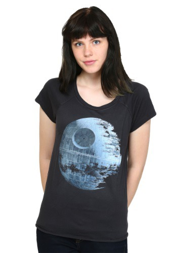 Womens Star Wars Death Star T-Shirt