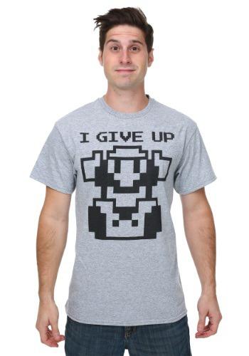 Super Mario I Give Up Men's T-Shirt