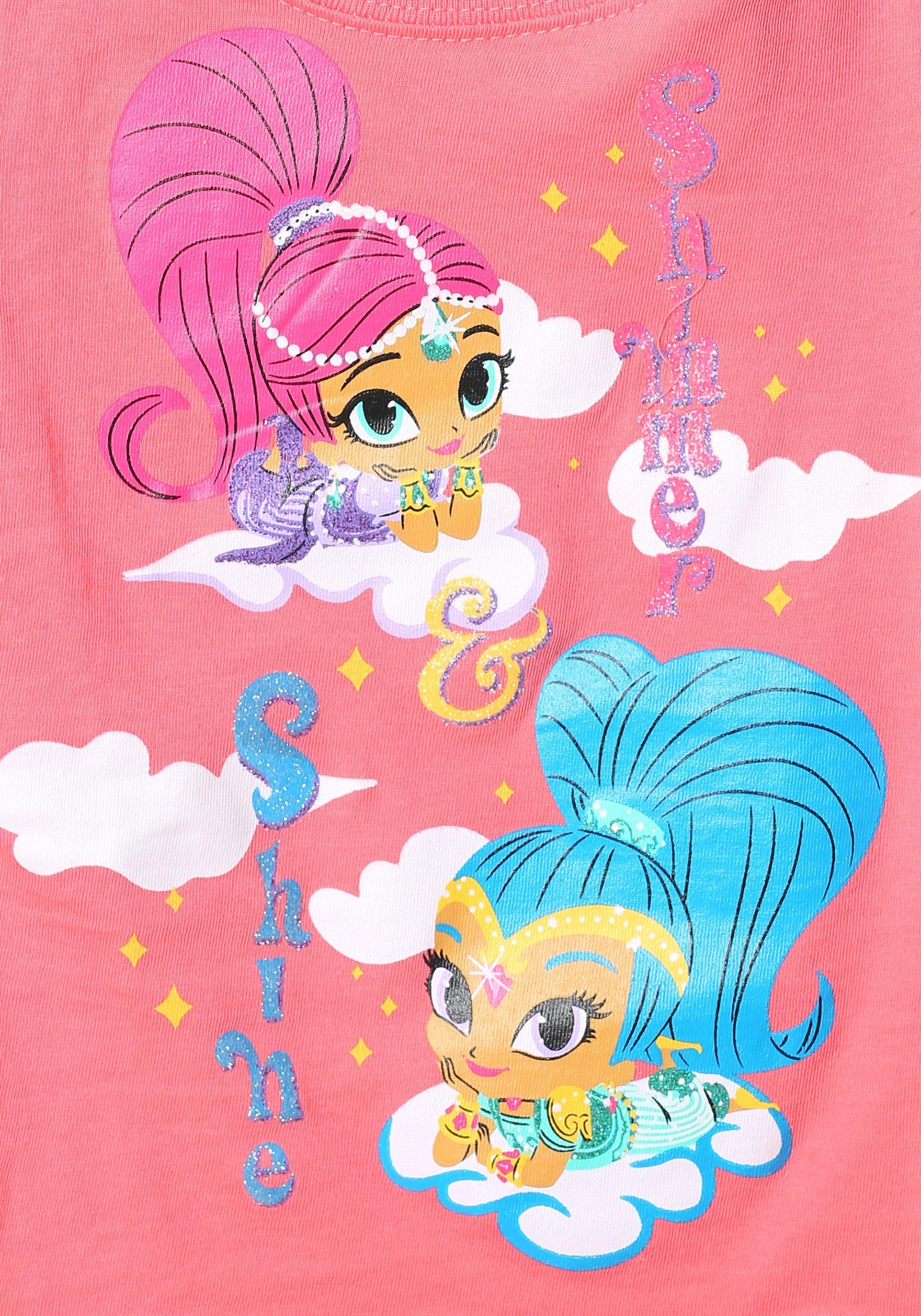 Shimmer Shine Magic Carpet Ride Girls Shirt