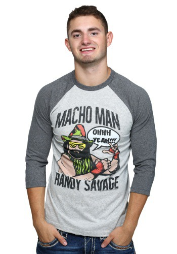 Macho Man Randy Savage Raglan