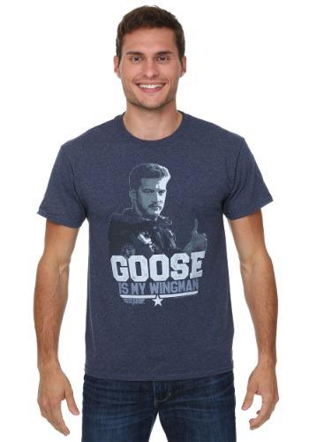 Top Gun Goose Wingin' It Mens T-Shirt