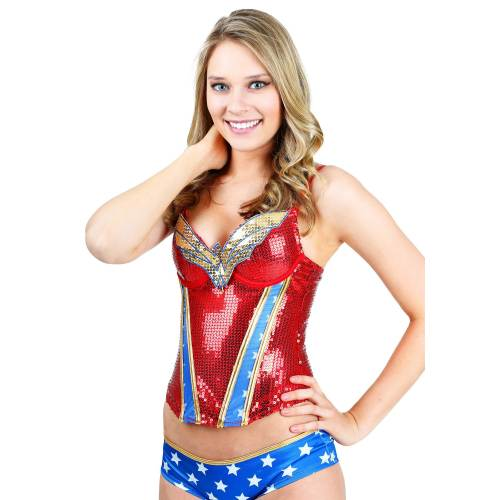 Medium Crop Of Wonder Woman Pajamas