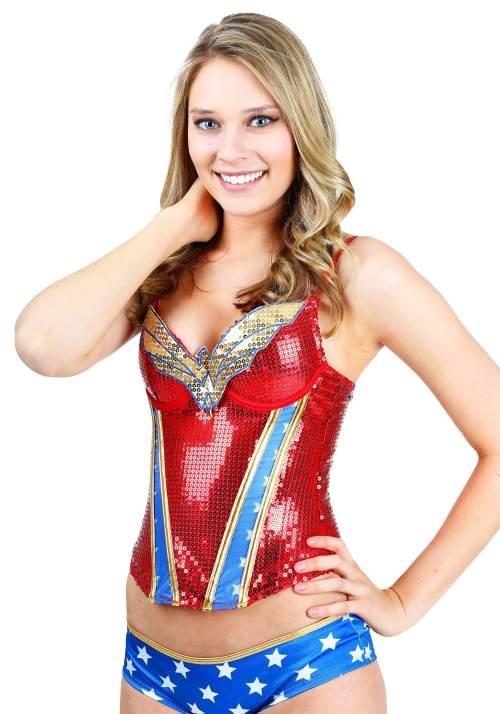 Medium Of Wonder Woman Pajamas