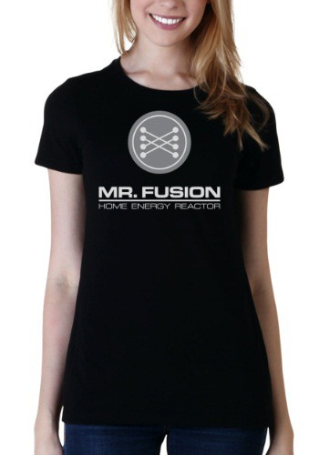 Womens Back to the Future Mr. Fusion T-Shirt