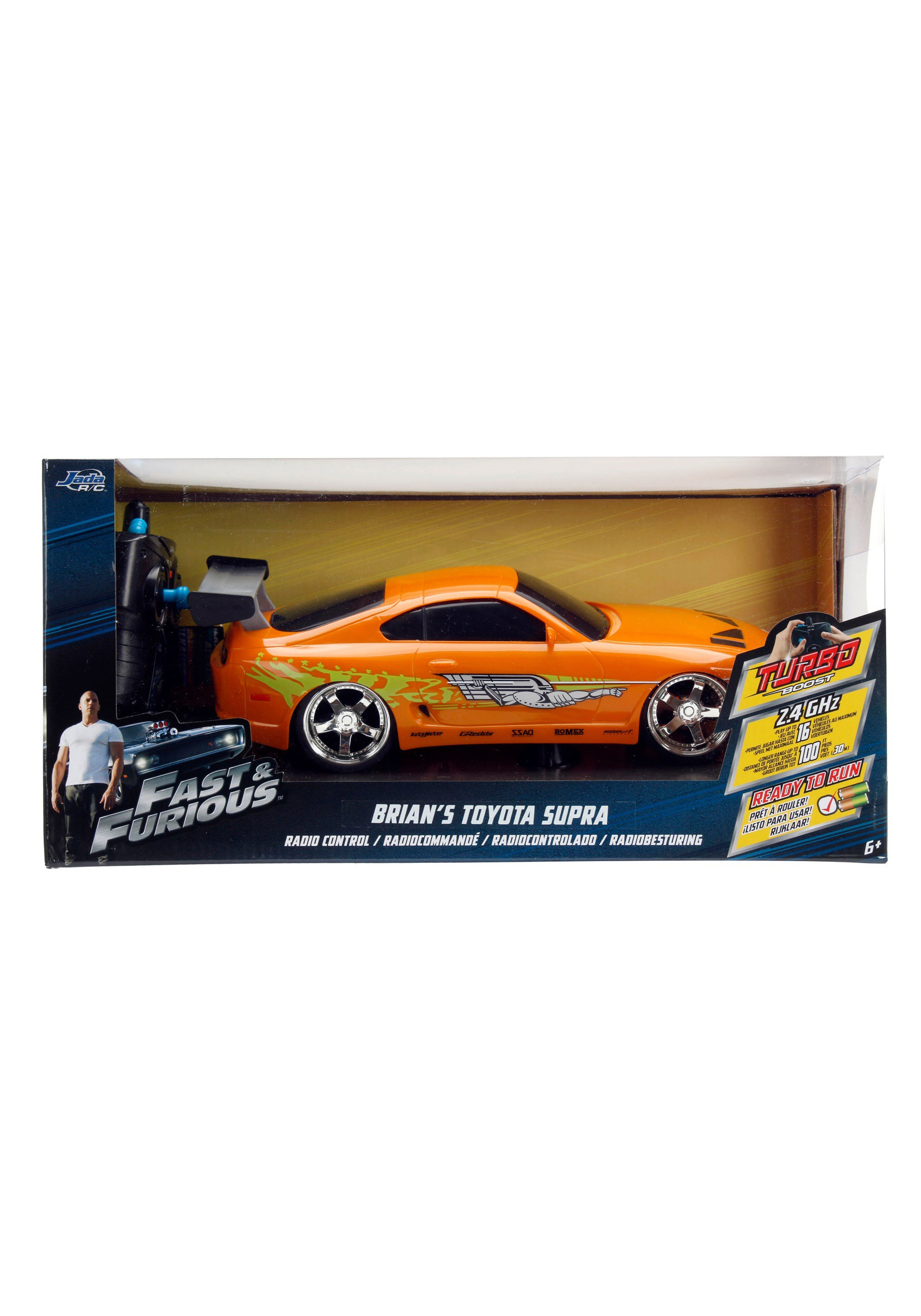 Toyota Supra From The Fast And The Furious Fast The Furious Toyota Supra 1 16 Rc