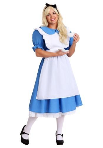 Women's Deluxe Plus Size Alice Costume