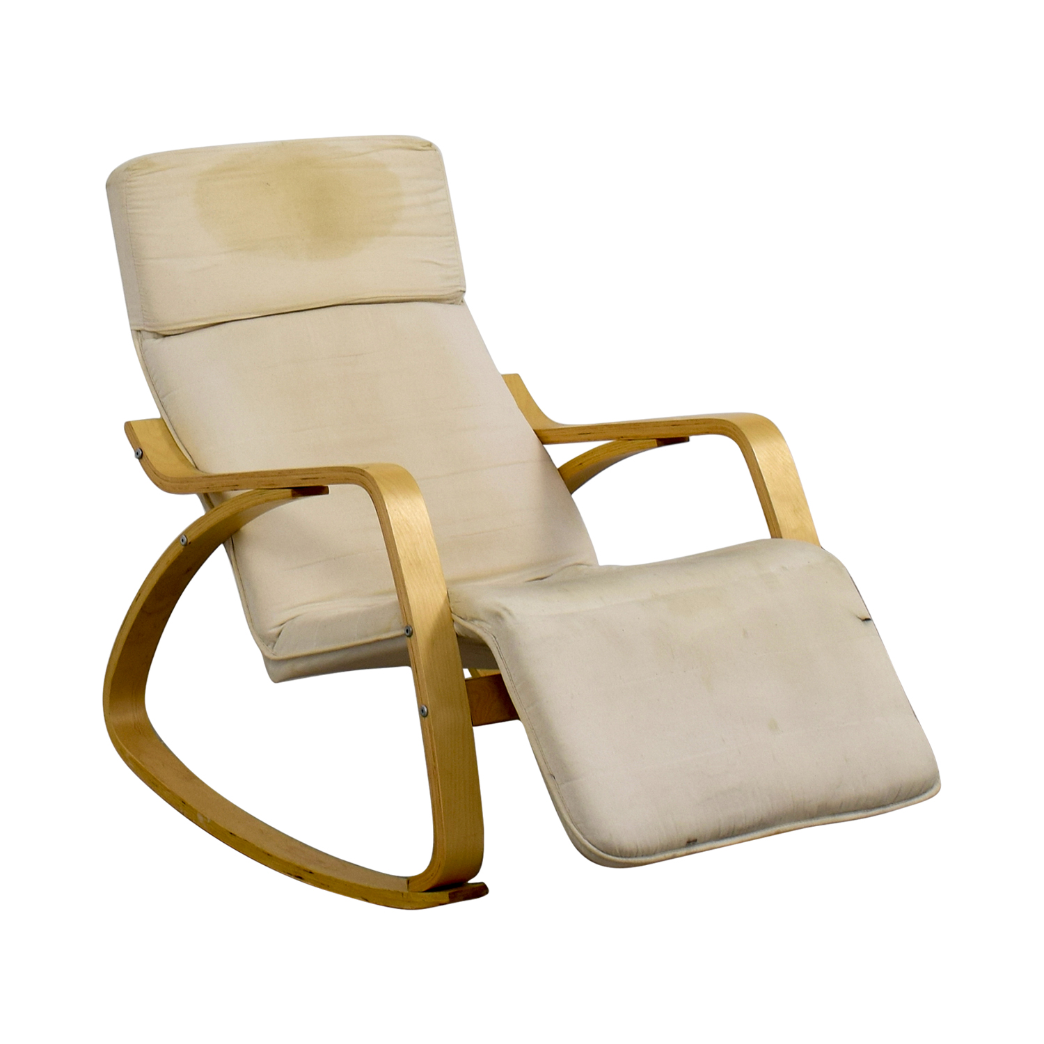 White Wooden Rocking Chairs For Sale 90 Off White Rocking Chair With Recliner Chairs