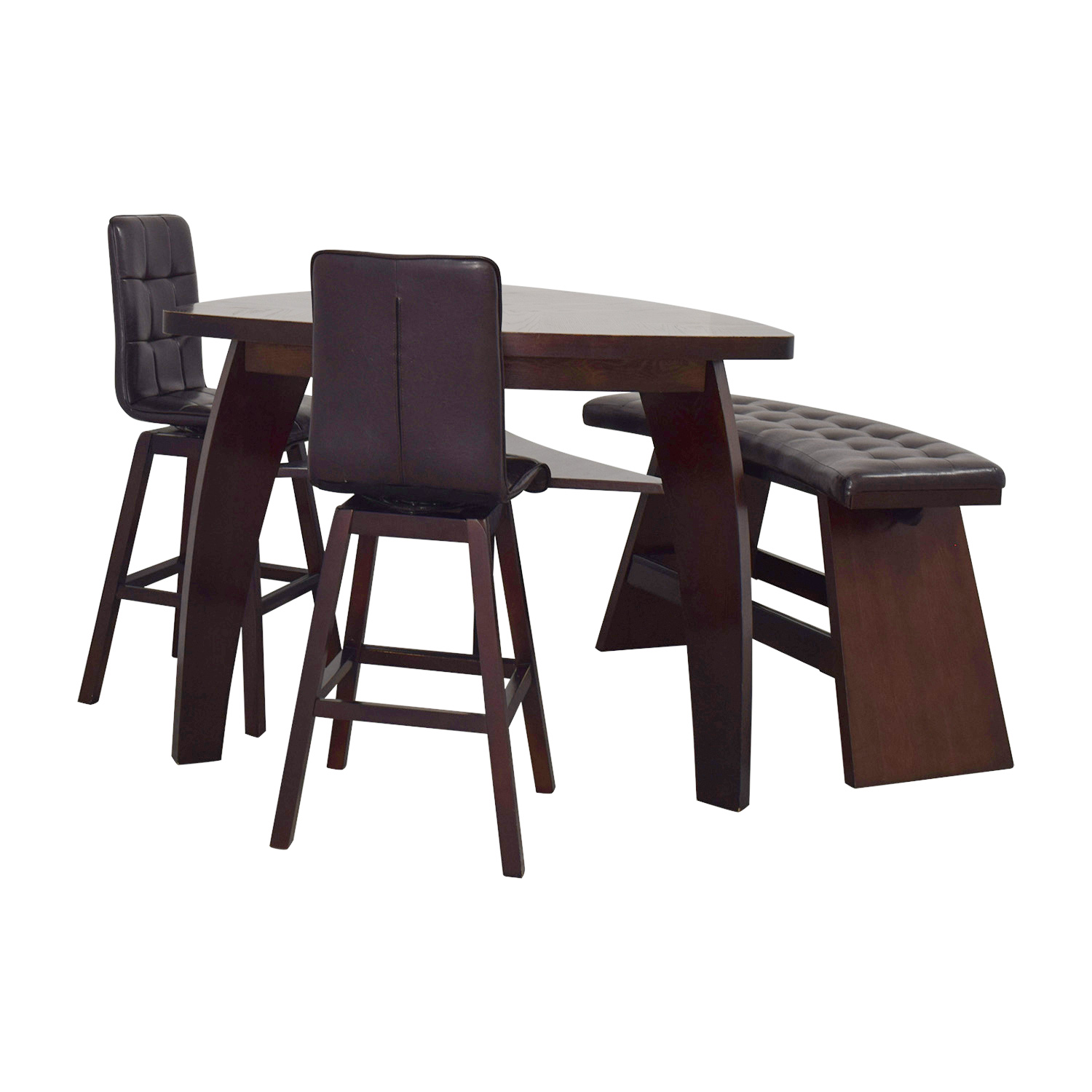 Bar Stools And Table Set Boomerang Dining Table Set Dining Room Ideas