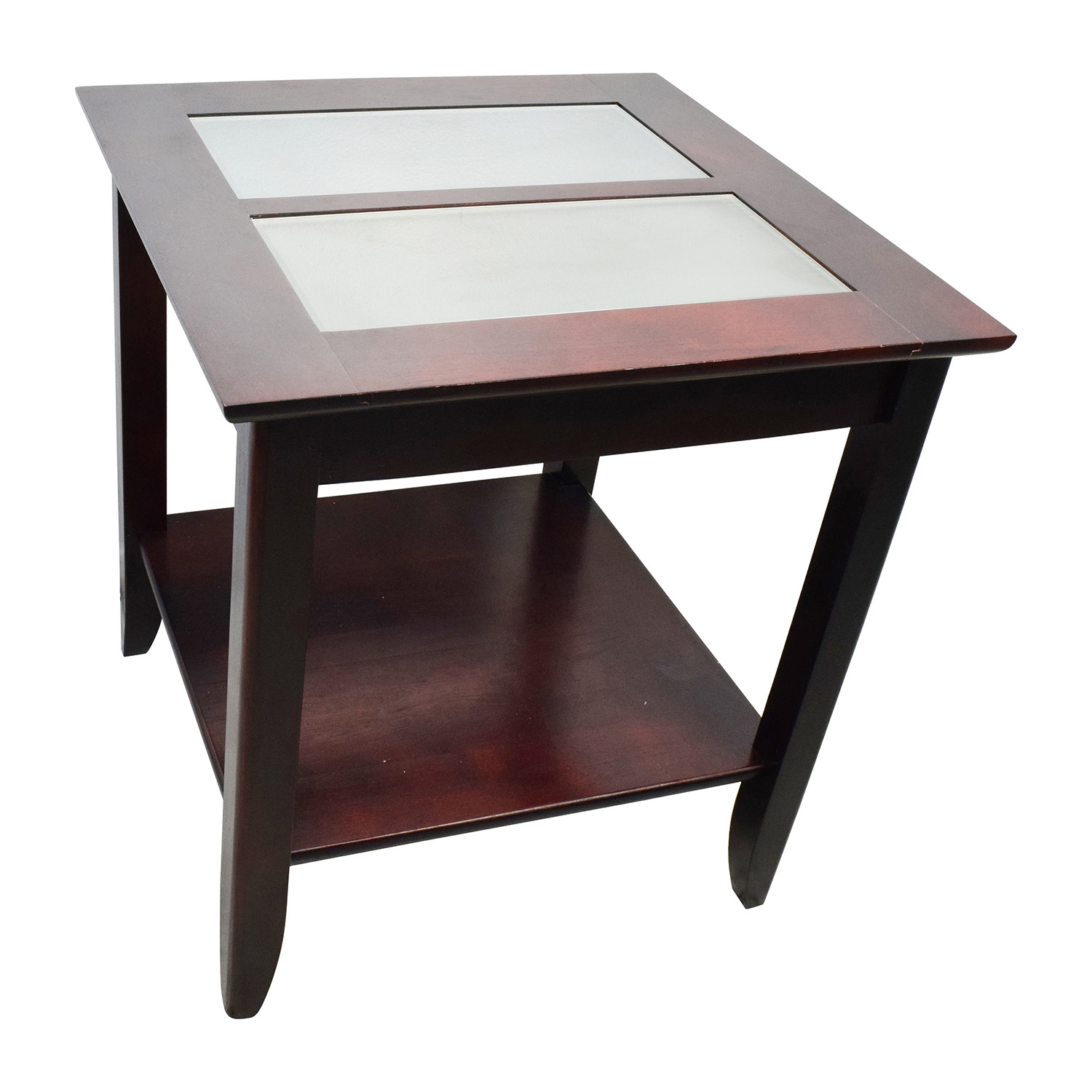 Buy Glass Coffee Table 85 Off Target Target Glass And Wood Coffee Table Tables