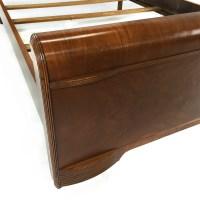 50% OFF - Custom Art Deco Waterfall Queen Bedframe / Beds