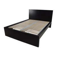 77% OFF - IKEA IKEA Full Bed Frame with Adjustable Slats ...