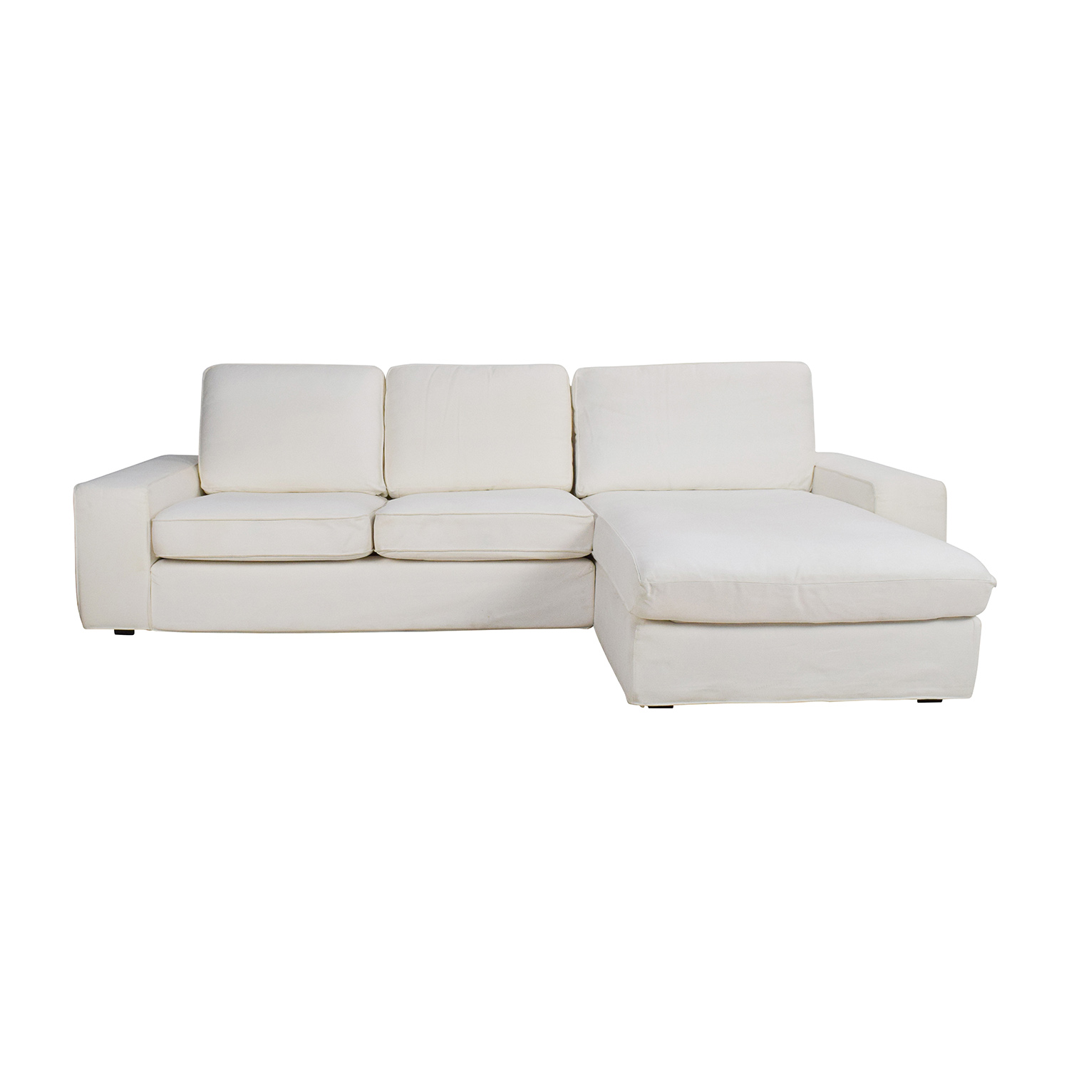 Sofa Ikea Chaise 69 Off Ikea Ikea Kivik Sofa And Chaise Sofas
