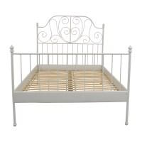 64% OFF - IKEA IKEA Leirvik Full Size Bed Frame / Beds