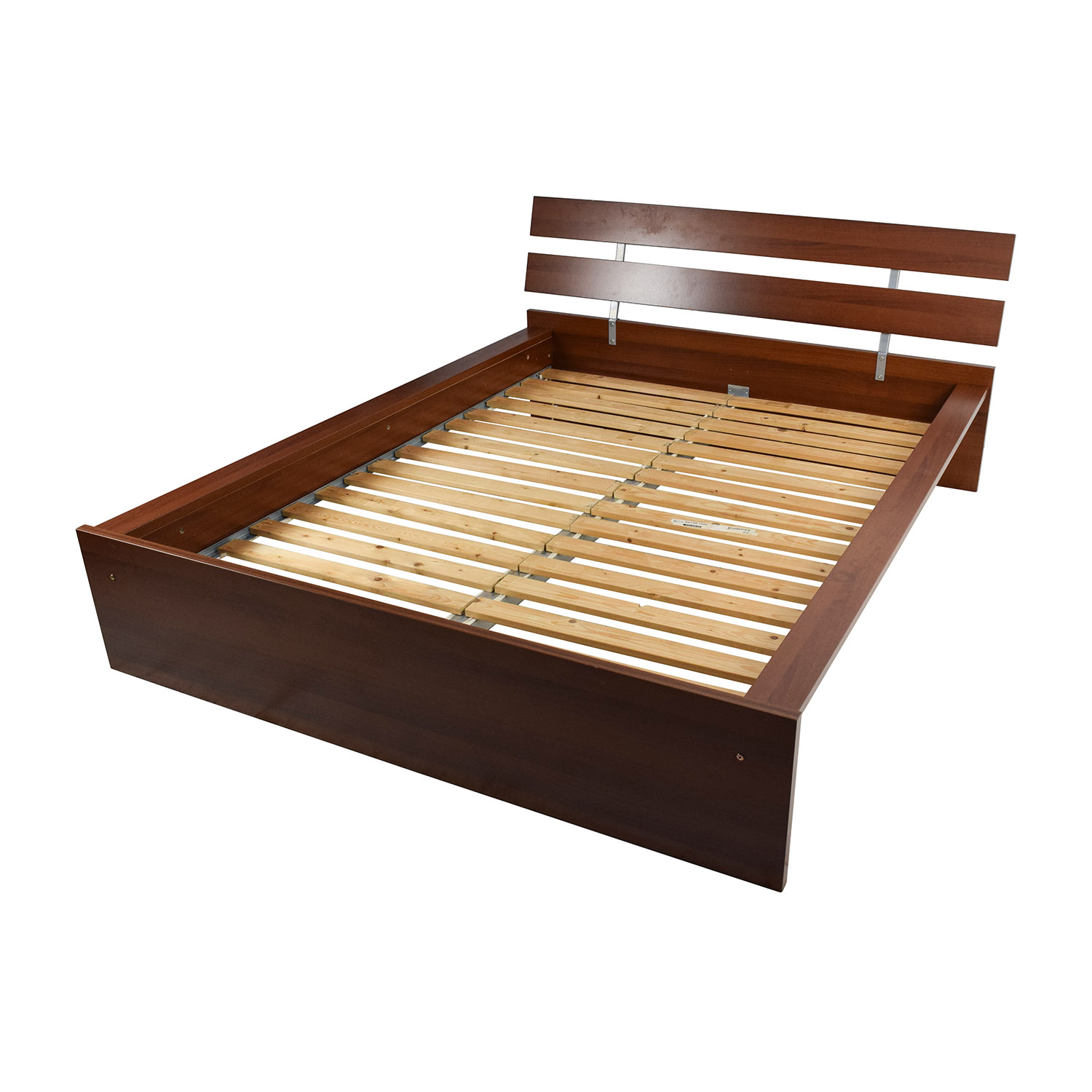 Queen Beds Online 64 Off Ikea Ikea Brown Queen Bed Frame Beds