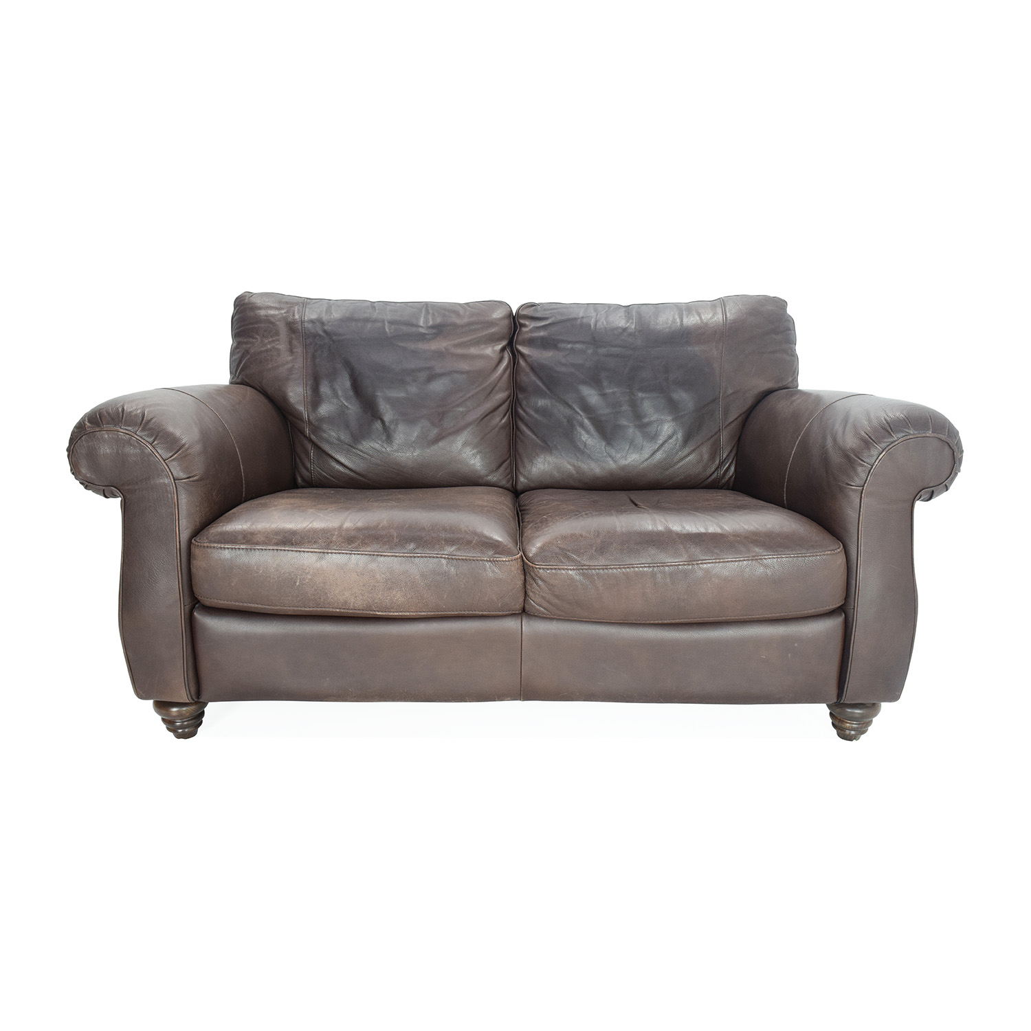 Leather Loveseat 50 Off Black Bonded Leather Loveseat Sofas